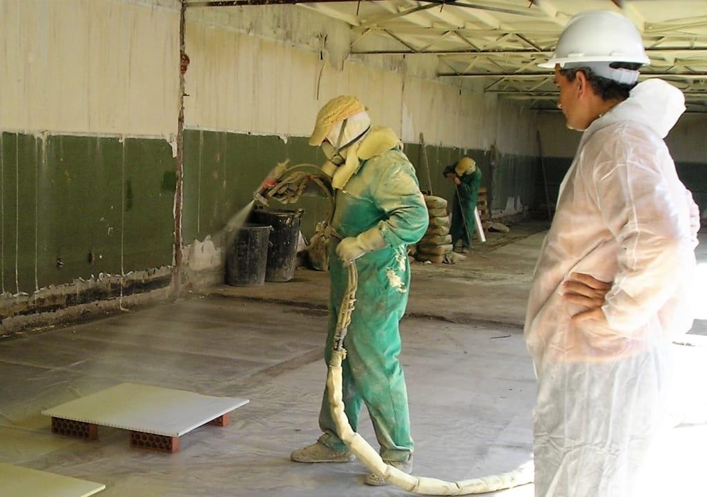 Control en obra del poliuretano proyectado