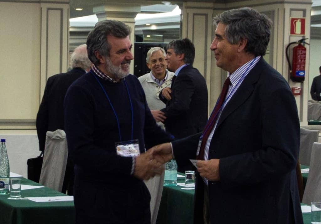 Manuel Zurita, de SERMAN, y Juan Somavilla, de INCUAL