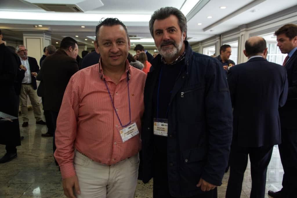 Valentín Correa, de ECCOAISLA EXTREMADURA y Manuel Zurita, de SERMAN