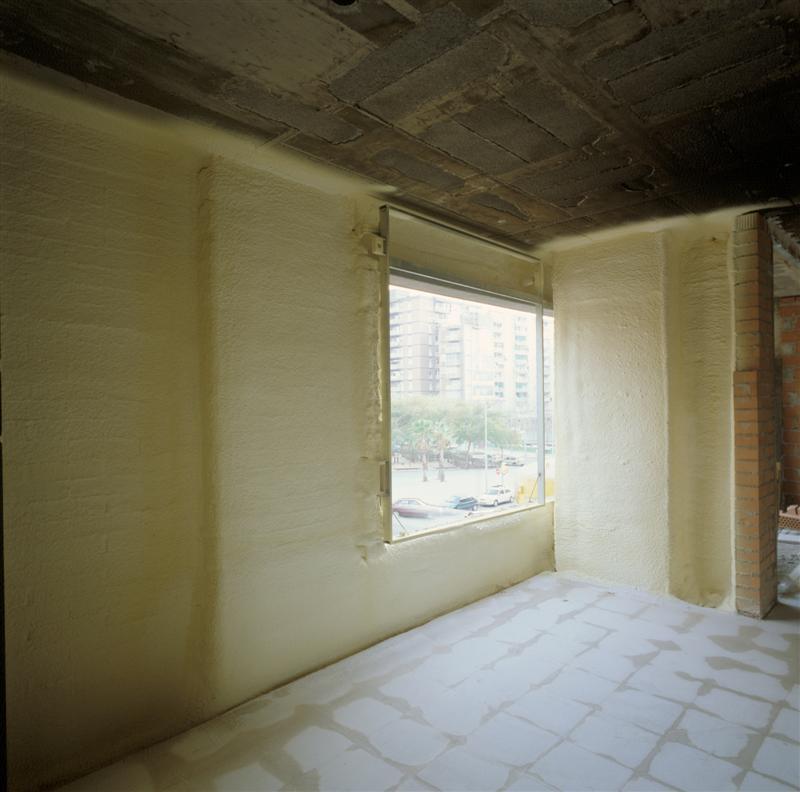 Fachada por el interior aislamiento t rmico aisla for Aislamiento termico en fachadas por el interior